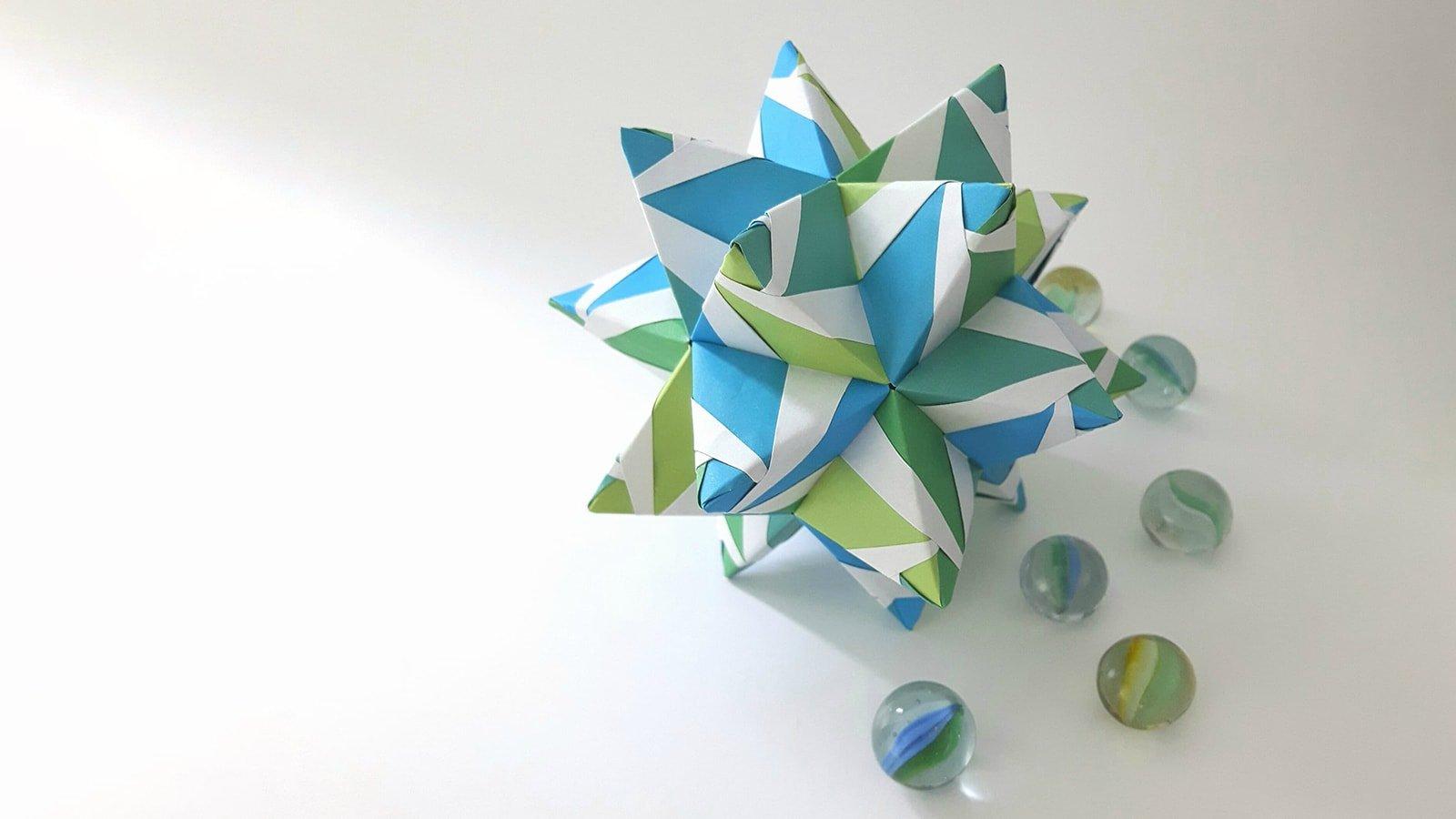 Best modular origami of 2018